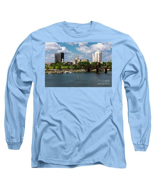 Augusta Ga - Savannah River Long Sleeve T-Shirt