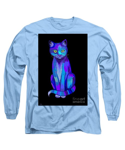Colorful Calico Cat Long Sleeve T-Shirt