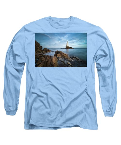 Lighthouse In Ahtopol, Bulgaria Long Sleeve T-Shirt