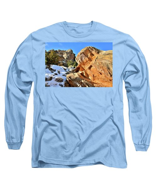 Colorful Colorado National Monument Long Sleeve T-Shirt