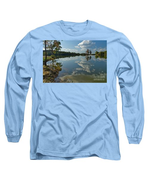 Reflections By The Lake Long Sleeve T-Shirt