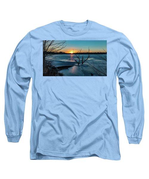 2019-012/365 January Sunset Long Sleeve T-Shirt