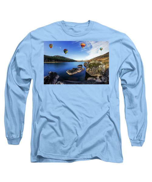 Llynnau Mymbyr Long Sleeve T-Shirt
