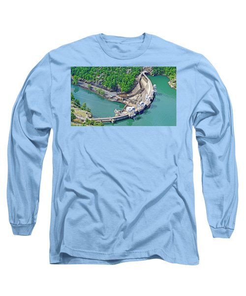 Smith Mountain Lake Dam Long Sleeve T-Shirt