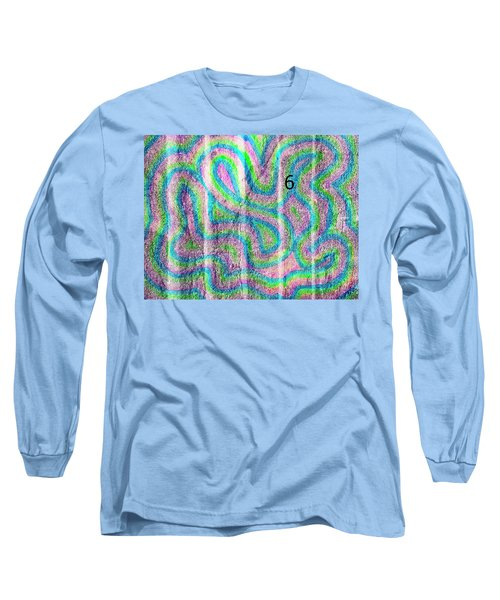 #6 Sidewalk Long Sleeve T-Shirt