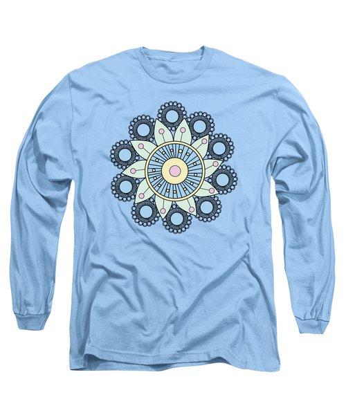 A Mandala Doily Long Sleeve T-Shirt