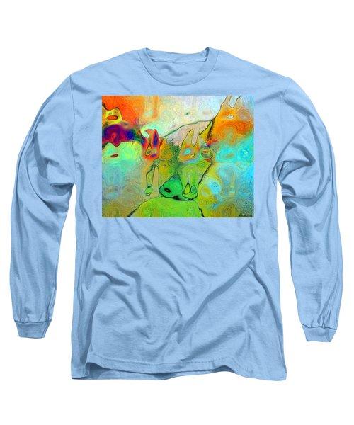 A Message For Miro Long Sleeve T-Shirt