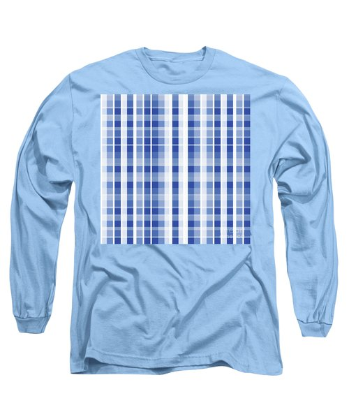 Abstract Squares And Lines Background - Dde609 Long Sleeve T-Shirt