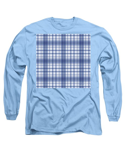 Abstract Squares And Lines Background - Dde613 Long Sleeve T-Shirt