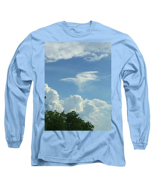 Angel Cloud Appears  Long Sleeve T-Shirt