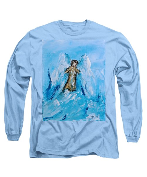 Angel With A Purpose Long Sleeve T-Shirt