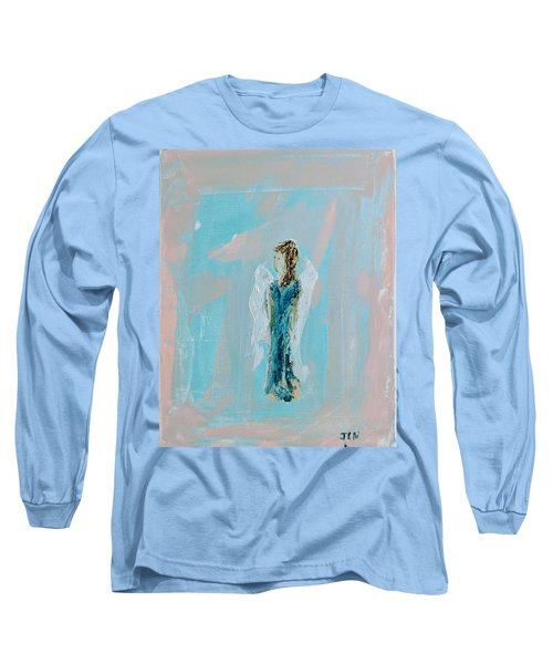 Angel With Character Long Sleeve T-Shirt