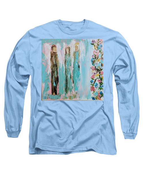 Angels In The Garden Long Sleeve T-Shirt