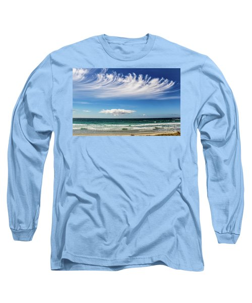Aotearoa - The Long White Cloud, New Zealand Long Sleeve T-Shirt
