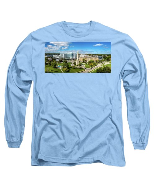 Long Sleeve T-Shirt featuring the photograph Ascension Columbia St. Mary's Hospital by Randy Scherkenbach