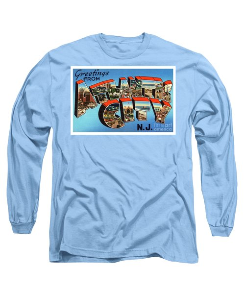 Atlantic City Greetings #3 Long Sleeve T-Shirt