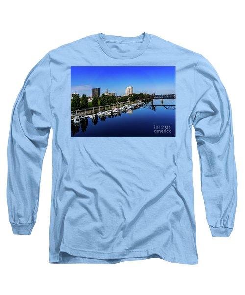 Augusta Ga Savannah River 2 Long Sleeve T-Shirt