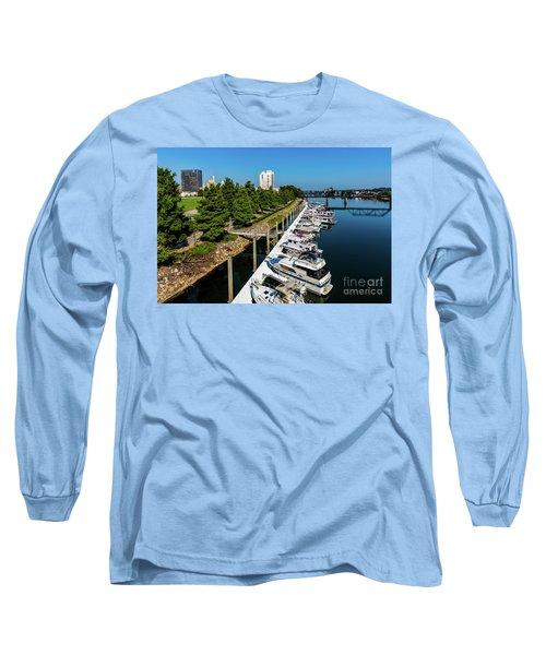 Augusta Ga - Savannah River Long Sleeve T-Shirt