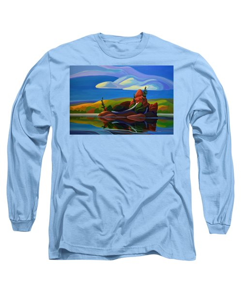 autumn Island Long Sleeve T-Shirt