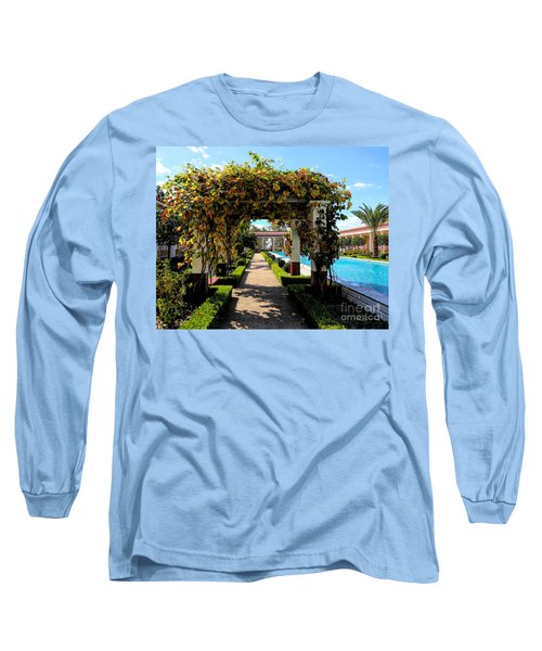 Awesome J Paul Getty Villa Pacific Palisades California  Long Sleeve T-Shirt