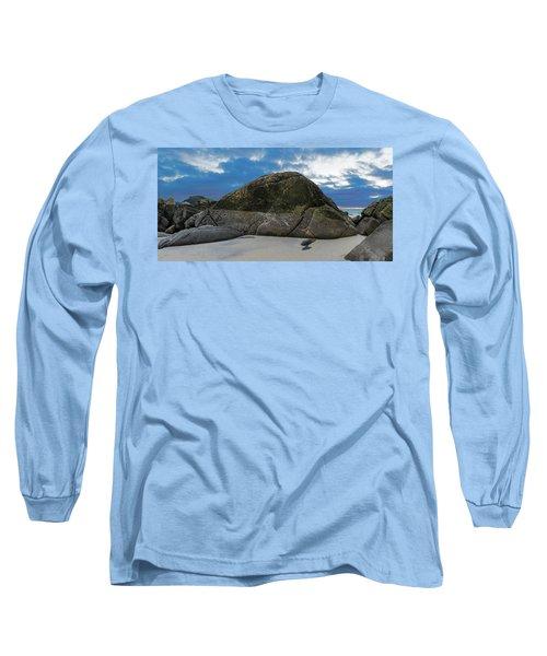 Beach Details Long Sleeve T-Shirt