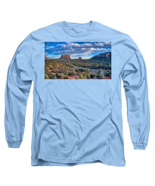 Bell Rock Scenic View Sedona Long Sleeve T-Shirt