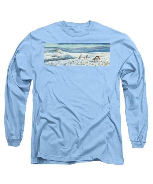 Belt Butte Winter Long Sleeve T-Shirt