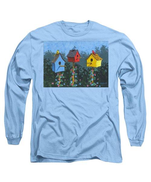 Bird House Lane Sketch Long Sleeve T-Shirt