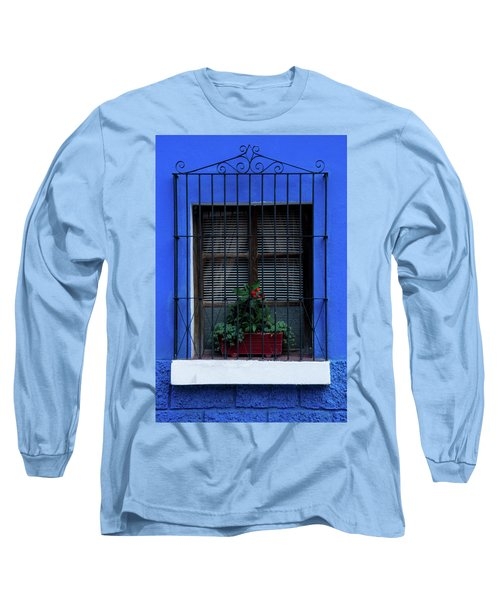 Blue-ming Beauty Long Sleeve T-Shirt