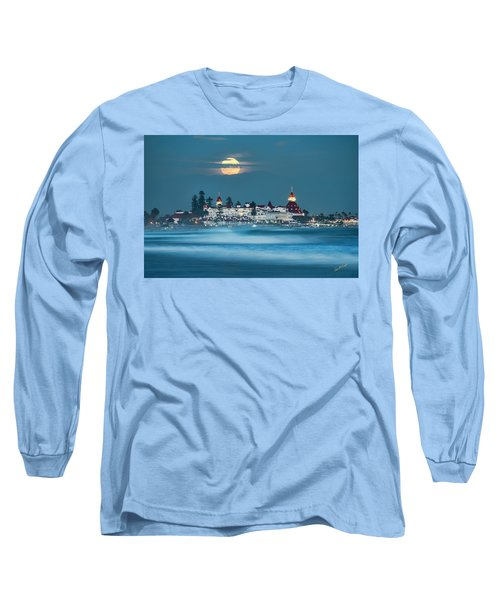 Blue Moon 48x72 Long Sleeve T-Shirt