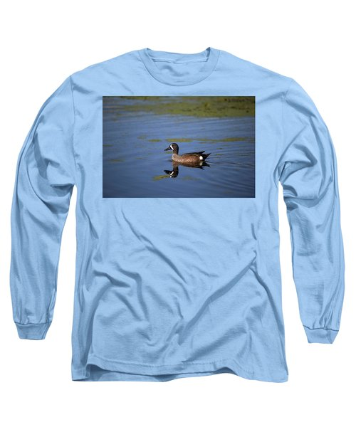 Blue Winged Teal Long Sleeve T-Shirt