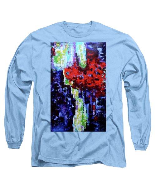 Blurry Vision  Long Sleeve T-Shirt