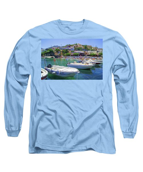 Boats In Bali Long Sleeve T-Shirt