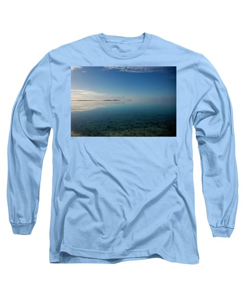 Bonefish Flats, Great Exuma Long Sleeve T-Shirt