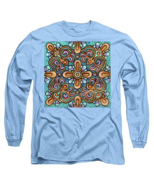Botanical Mandala 7 Long Sleeve T-Shirt