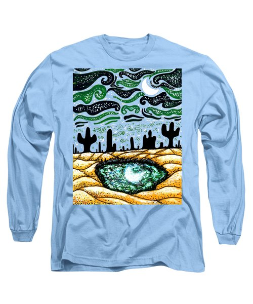 Bring The Moon On Earth Long Sleeve T-Shirt