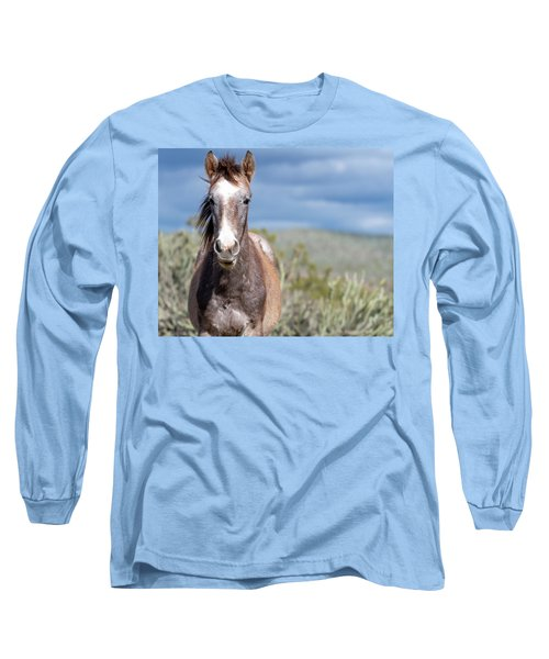 Long Sleeve T-Shirt featuring the photograph Cactus Cutie by Mary Hone