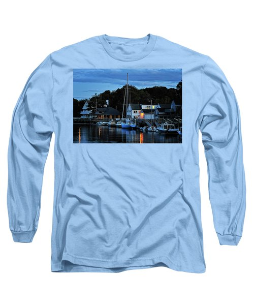 Camden Maine Twightlight Long Sleeve T-Shirt