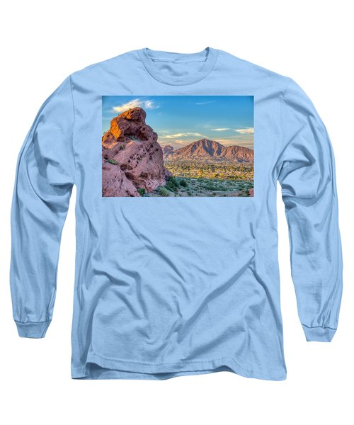 Camelback Mountain  Long Sleeve T-Shirt