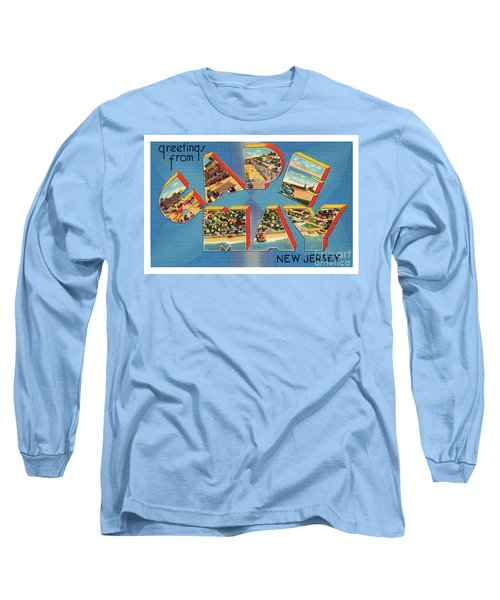 Cape May Greetings - Version 2 Long Sleeve T-Shirt
