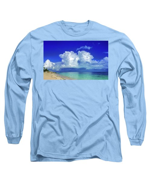 Caribbean Clouds Long Sleeve T-Shirt