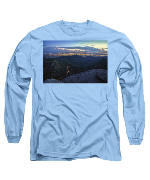 Catalina Highway And Tucson Long Sleeve T-Shirt
