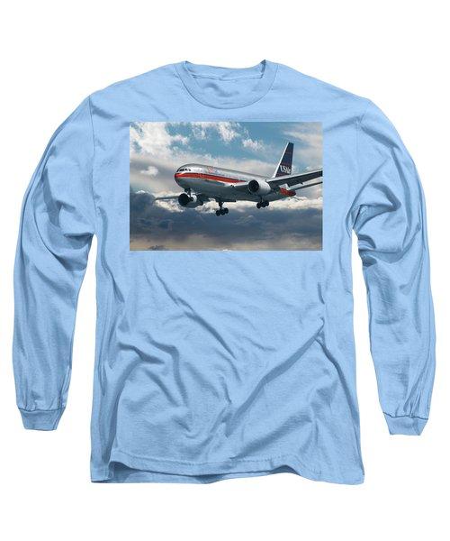 Classic Us Airways Long Sleeve T-Shirt