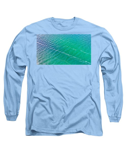 Clear Water Imagery  Long Sleeve T-Shirt