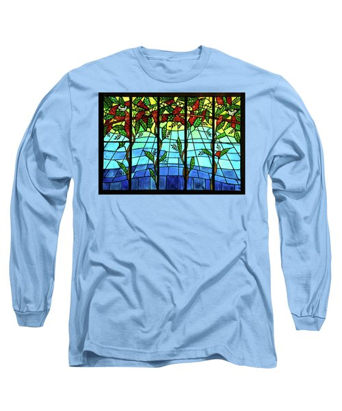 Climbing Vines Long Sleeve T-Shirt