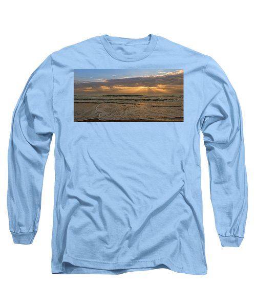Cloudy Sunrise In The Mediterranean Long Sleeve T-Shirt