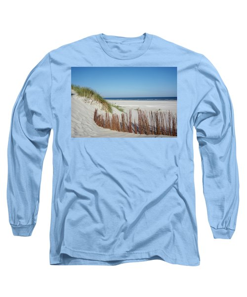 Long Sleeve T-Shirt featuring the photograph Coast Ameland by Anjo Ten Kate
