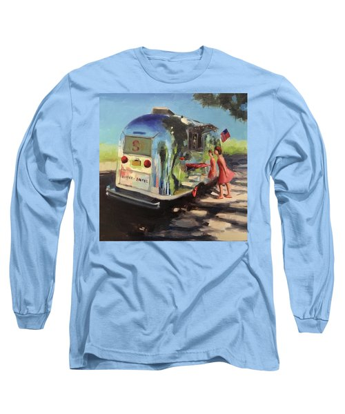 Coffee In The Shade Long Sleeve T-Shirt