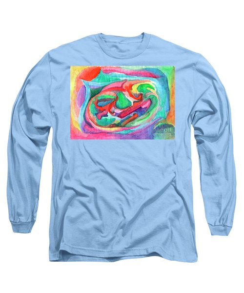 Colorful Abstraction Long Sleeve T-Shirt