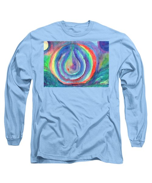 Colorful Drop Long Sleeve T-Shirt